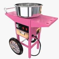 3d cotton candy machine