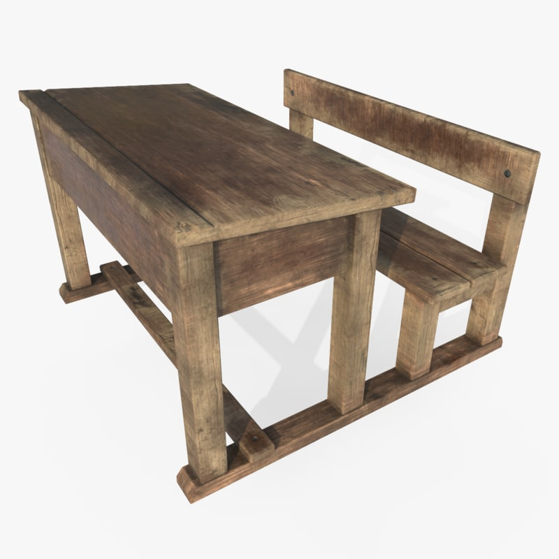 old school desk max