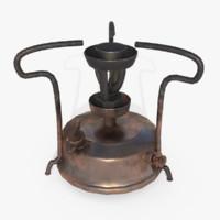 stove old kerosene 3d max