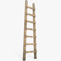 Wood Old Ladder
