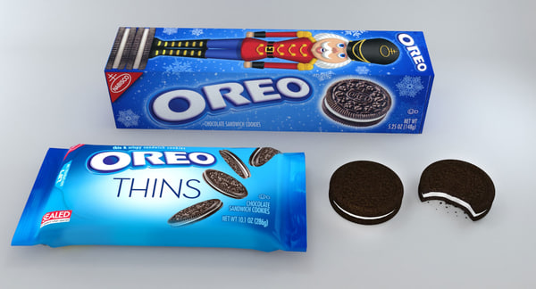 max realistic oreo cookie