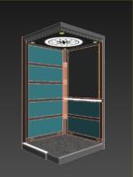 3d modelarchitecture elevator model