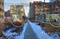 HIGH LINE PARK WALKWAY HDR