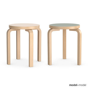 artek stools alvar aalto obj