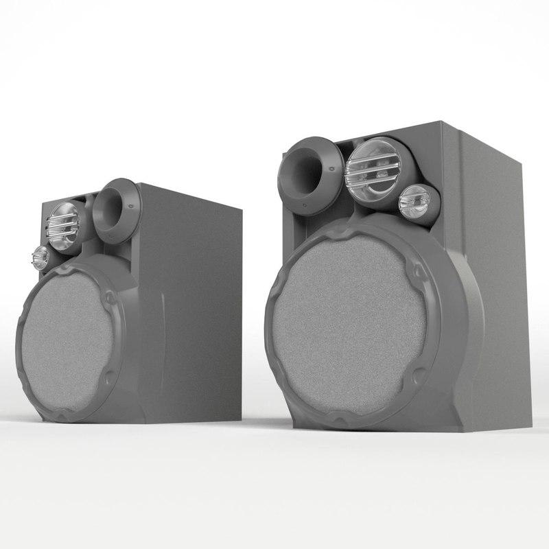 3d hi-fi speakers