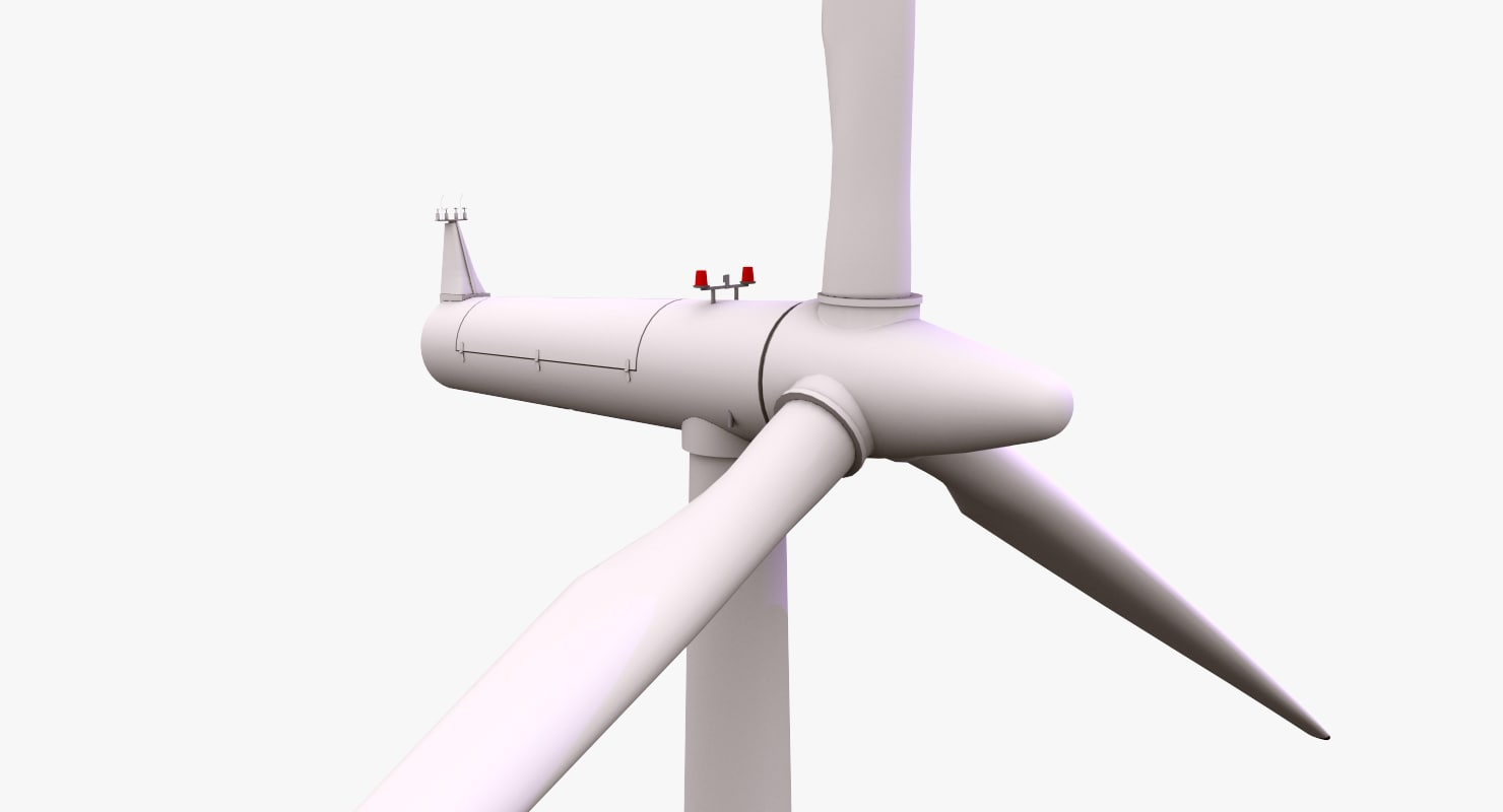 3d smola wind farm turbine model