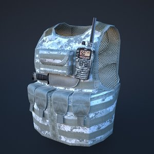 max body armor winter