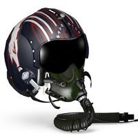 helmet tom cruise 3d max