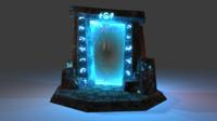 old portal 3d model