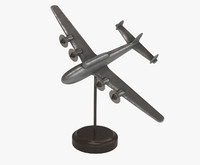 toy plane antique 3d max