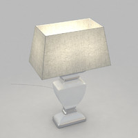 3d table lamp light