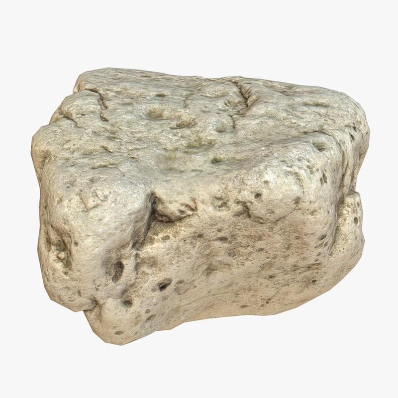 3d model stone