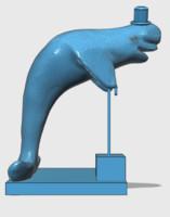 beluga whale 3d model