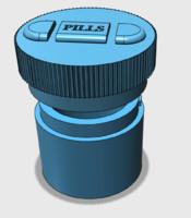 pill bottle 3d 3ds