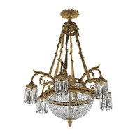 max antique chandelier french