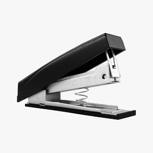 stapler file 3d fbx
