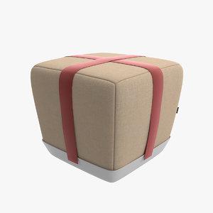 3d model puf sake