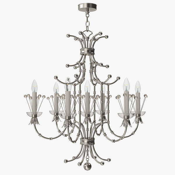 3d model remains - contessa chandelier