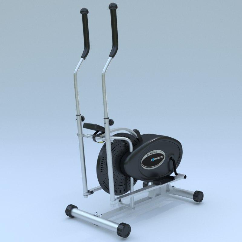 3d air elliptical model