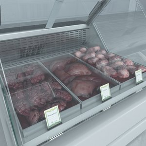 max custom refrigerated showcase