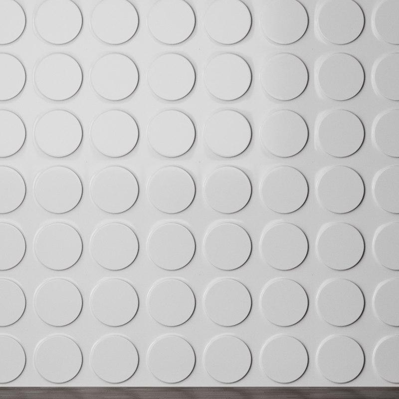 panel ellipses 3d model