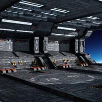 3d model sf hangar c3