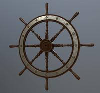 3d ships helm