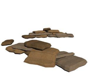 sandbags 3d max