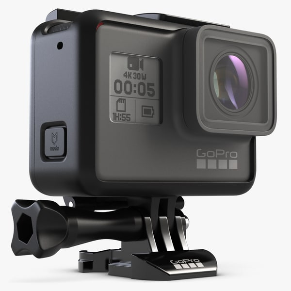 3d model gopro hero 5 frame