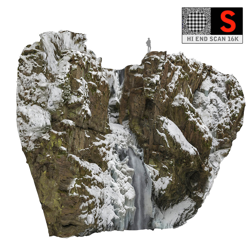 3d icefall 16k