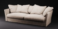 meridiani queen sofa 3d max