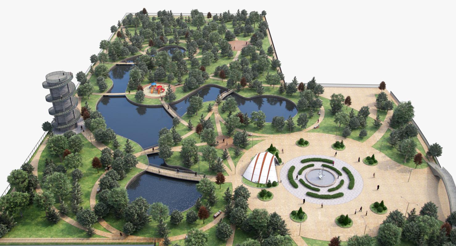 max landscape park