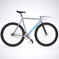 fixed gear bicycle 3d 3ds