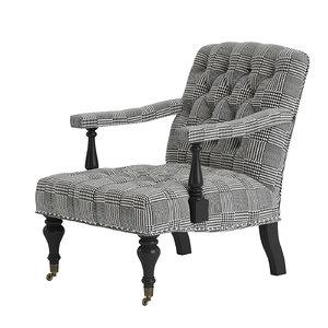 eichholtz chair carson 108957 3d model
