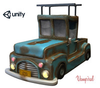 3d model of painted car games