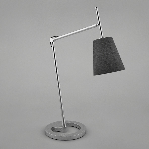 nyfors table lamp 3d model