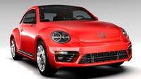 3d model beetle turbo 2017