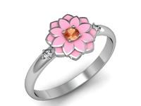 3d ring flower pandora model