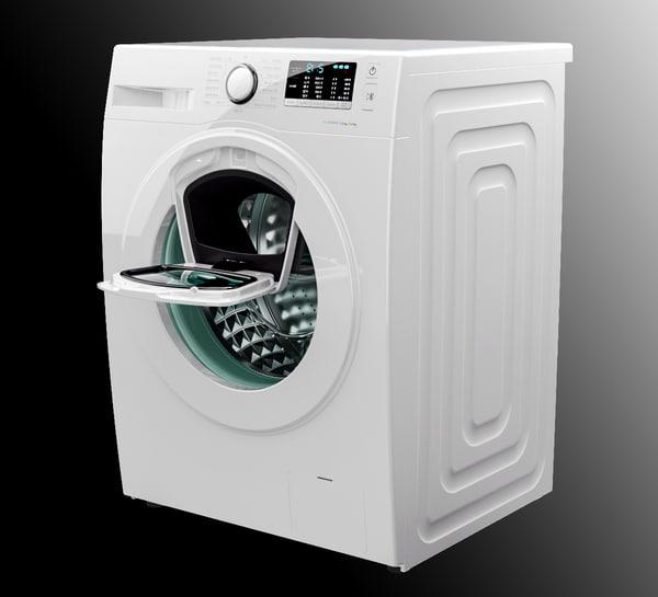 3d samsung wash machine