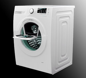 3d samsung wash machine