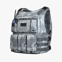 obj vest winter bullet