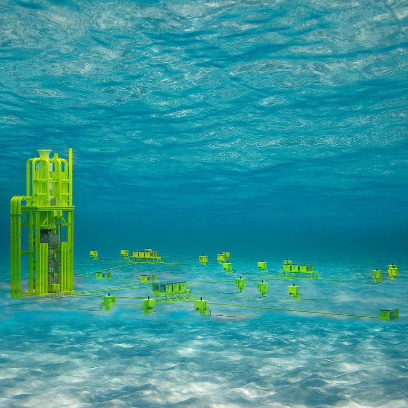 sub sea equipment bops 3d model