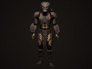 predator celtic 3d max