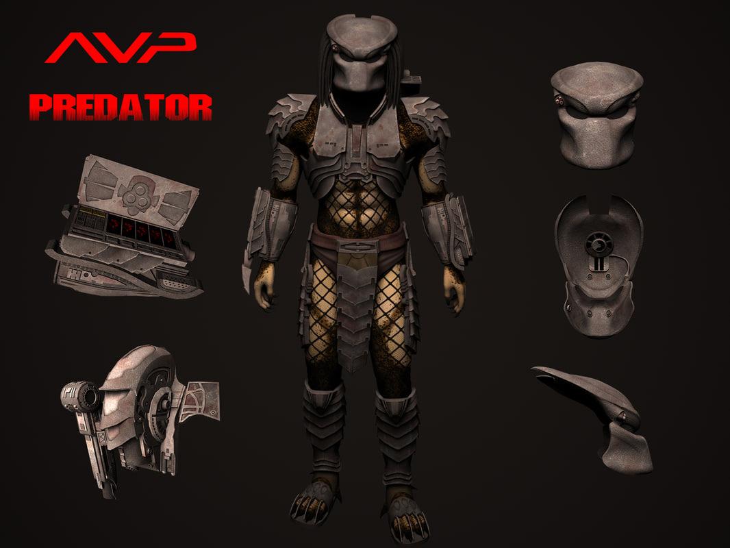 predator scar max