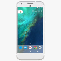 3d google pixel silver