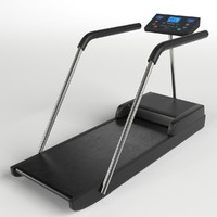 3d treadmill tapis-roulant fitness gym model