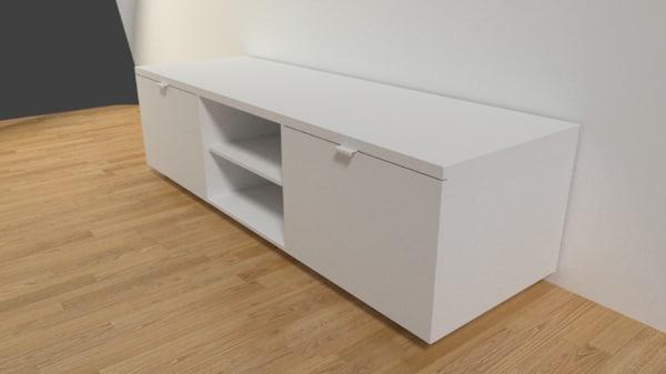 sideboard tv unit 3d model