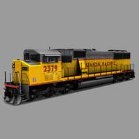 max emd sd60m triclops locomotive