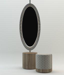 mirror puffs dxf