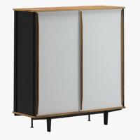 cabinet 11 3d max